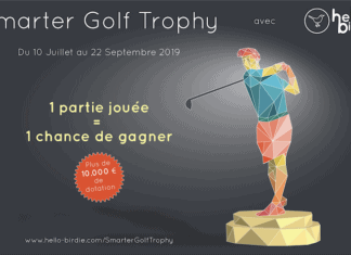 Smarter Golf Trophy - Hello Birdie