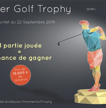 Smarter Golf Trophy - Hello Birdie