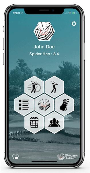 Application Spider Golf - iPhone