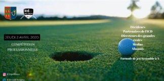 ICD Golf trophy 2020