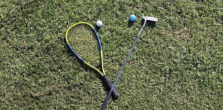 R-Golf le golf avec une raquette