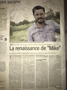 Midi libre - Pierre Duperron - Interview MLV