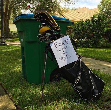 Essai d'analyse organisationnelle d'un sac de golf - LPBB