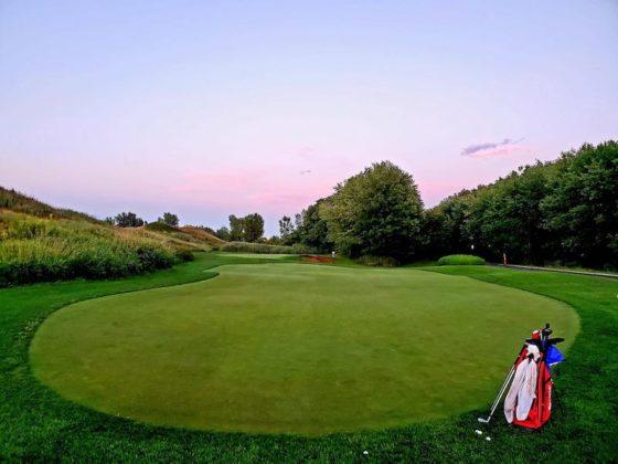 Vert de pratique - CGIM - ronde de golf à Montréal