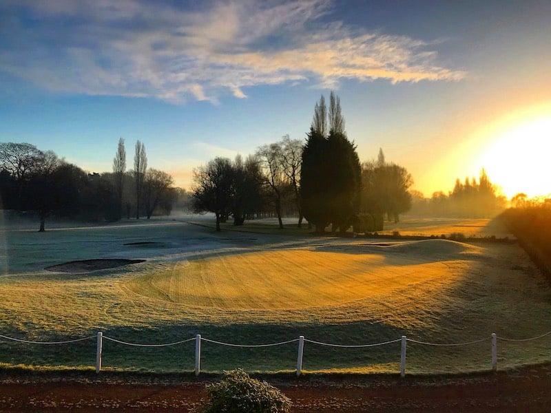 parcours golf matin