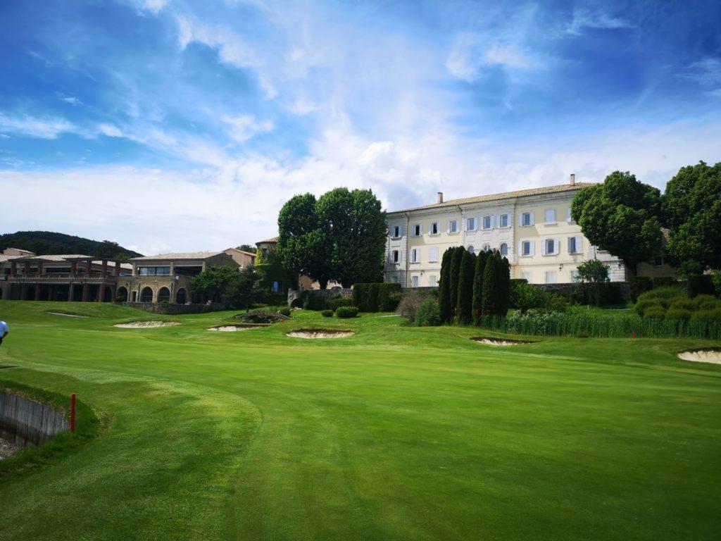 Château de Taulane - présentation golf - LPBB